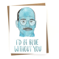 "Arrested Development Card// Tobias ""Blue without you"""