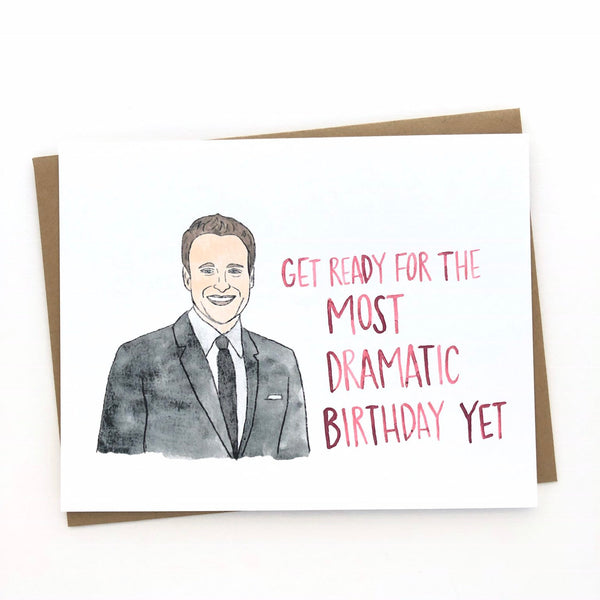 Chris Harrison // The Bachelor Birthday Card