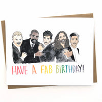 Queer Eye // Fab 5 Birthday