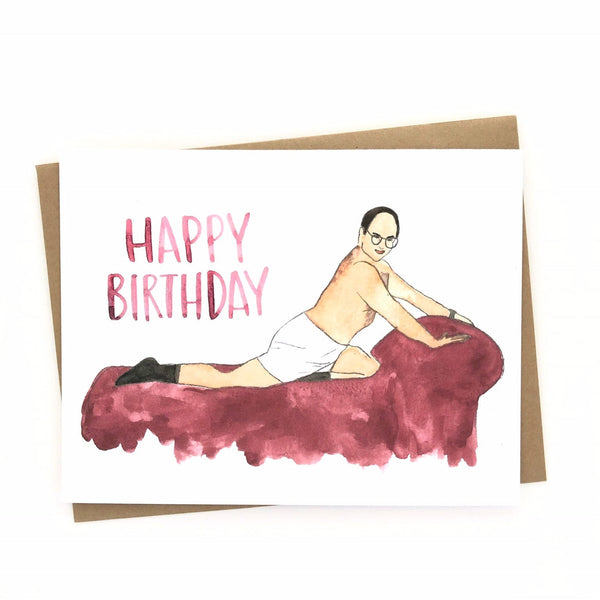 Birthday// George Costanza Card