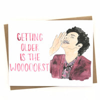 Parks and Rec Card// Jean-Ralphio