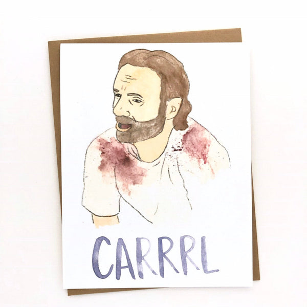 CARRRL //The Walking Dead Card