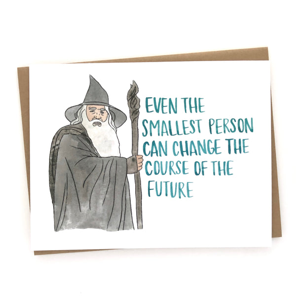 Gandalf Card// Lord of the Rings Baby Congratulations
