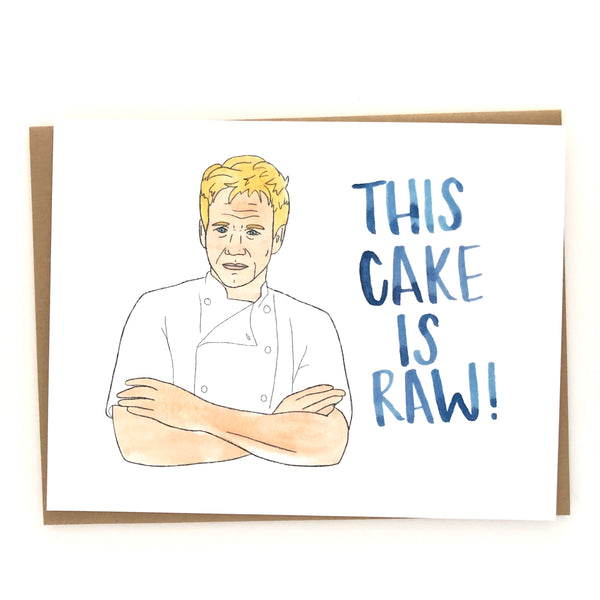Gordon Ramsay Birthday Card