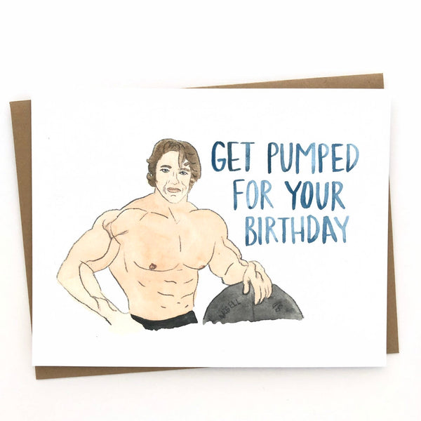 Arnold Schwarzenegger Birthday Card