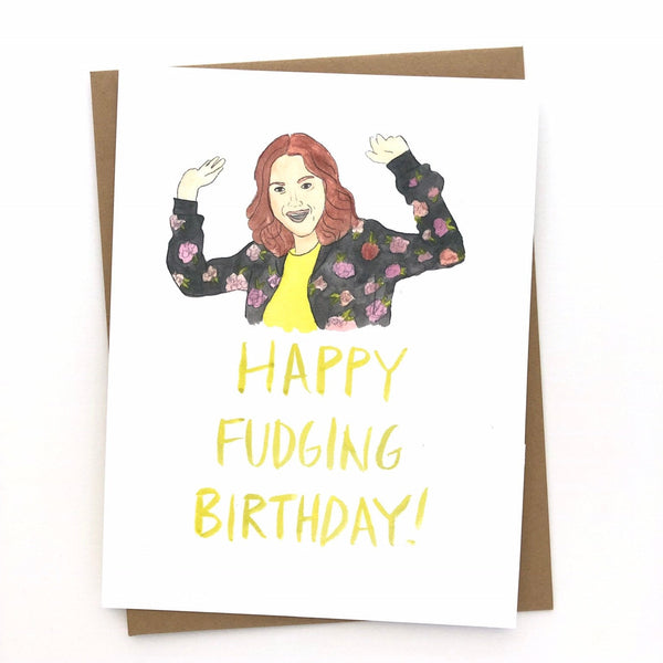 Unbreakable Kimmy Schmidt Card // Happy Birthday