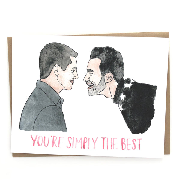 Schitt's Creek // David and Patrick Love Card
