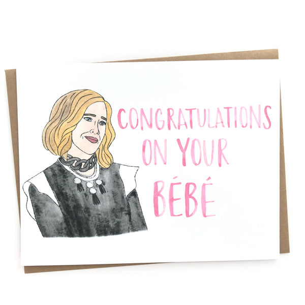 Schitt's Creek // Moira Bebe Card