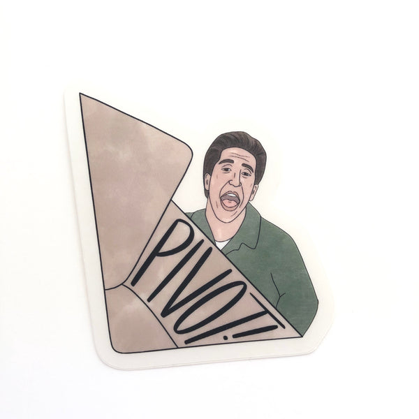 Ross Geller Pivot! Sticker