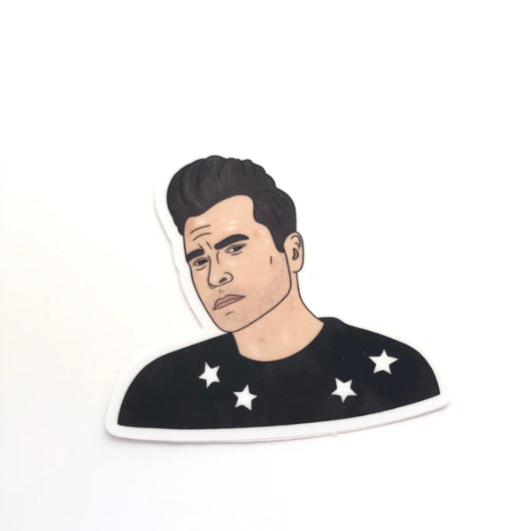 David Rose Sticker