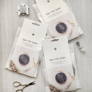 Mini Sewdiac Embroidery Kits