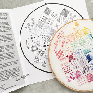 New Rainbow Embroidery Kit