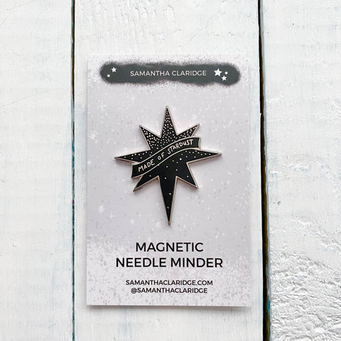 Made of Stardust Enamel Magnetic Needle Minder