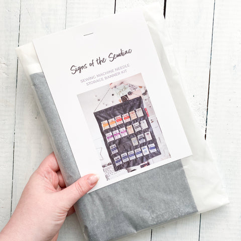 DIY Sewing Machine Needle Banner kit