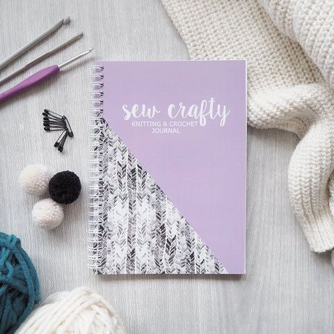Sew Crafty Knitting and Crochet Journal
