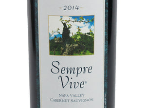 SINGLE BOTTLE - 2016 Sempre Vive Cabernet Napa Valley
