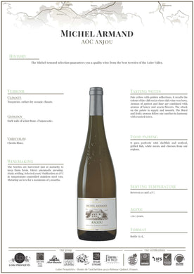 2018 Michel Armand Anjou Blanc France