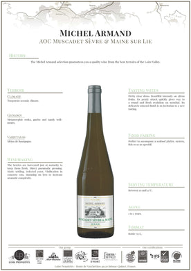 2018 Michel Armand Muscadet France
