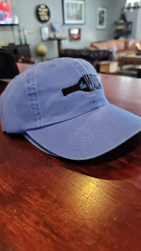 Distressed Blue Baseball Cap