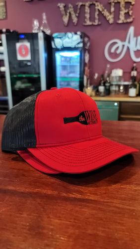 Trucker Red and Black Baseball Cap