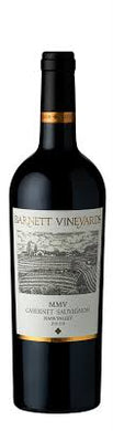 2017 Barnett Vineyards Cabernet Spring Mountain Napa Valley