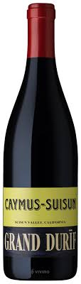 SINGLE BOTTLE - 2017 Caymus Grand Durif Petite Sirah Suison Valley
