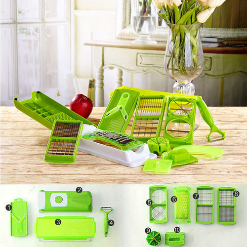 12 in 1 Multi-functional Grater/Vegetable Cutter - Kivory Solutions