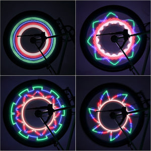 Bicycle LED Wheel Lights - Kivory Solutions