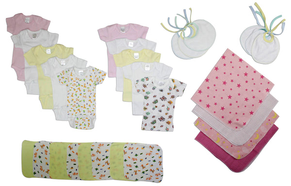 Bambini Girls' 28 Piece Layette Set