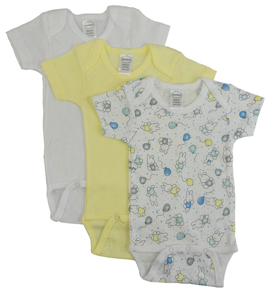 Bambini Girls' Printed Short Sleeve Variety Pack