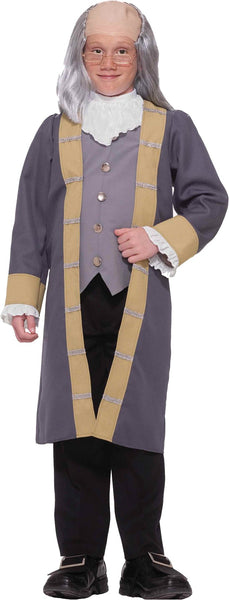 Ben Franklin Boys Costume 8-10