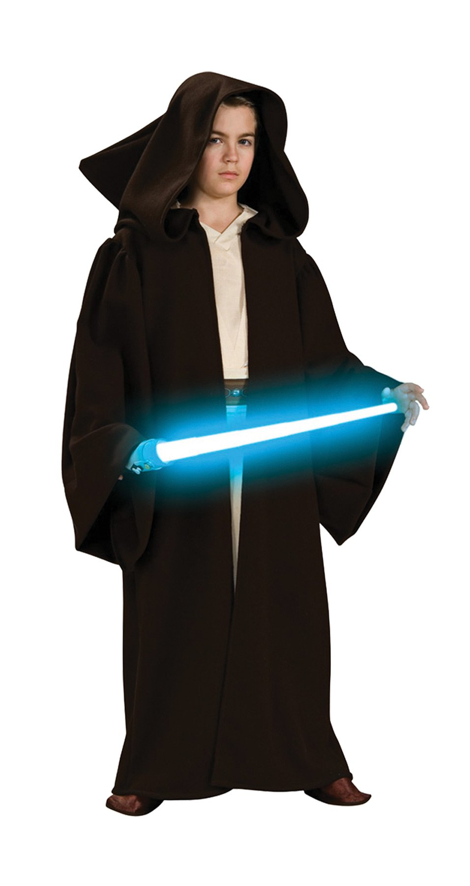 Jedi Robe Super Deluxe Boys Costume Large