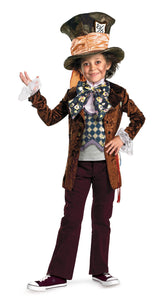 Mad Hatter Deluxe Boys Costume 4-6