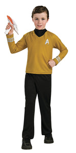 Star Trek Boys Costume Deluxe Gd Cost Sm