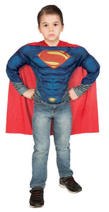 Superman Muscle Shirt Set Chid Boys Costume