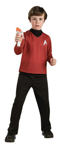 Star Trek Boys Costume Deluxe Red Cost Sm