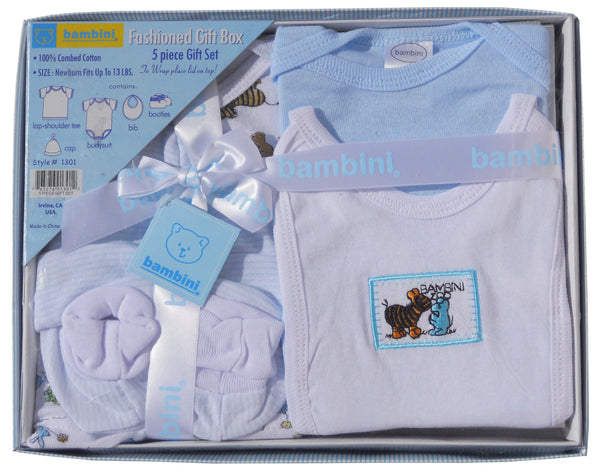 Bambini 5 Piece Gift Box - Blue