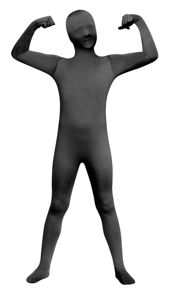 Skin Suit Black Boys Costume 8-10
