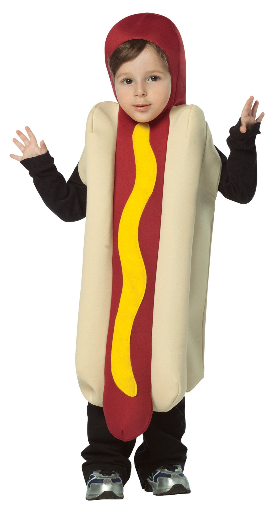 Hot Dog Boys Costume Lightweight Boys Costume Small 4-6