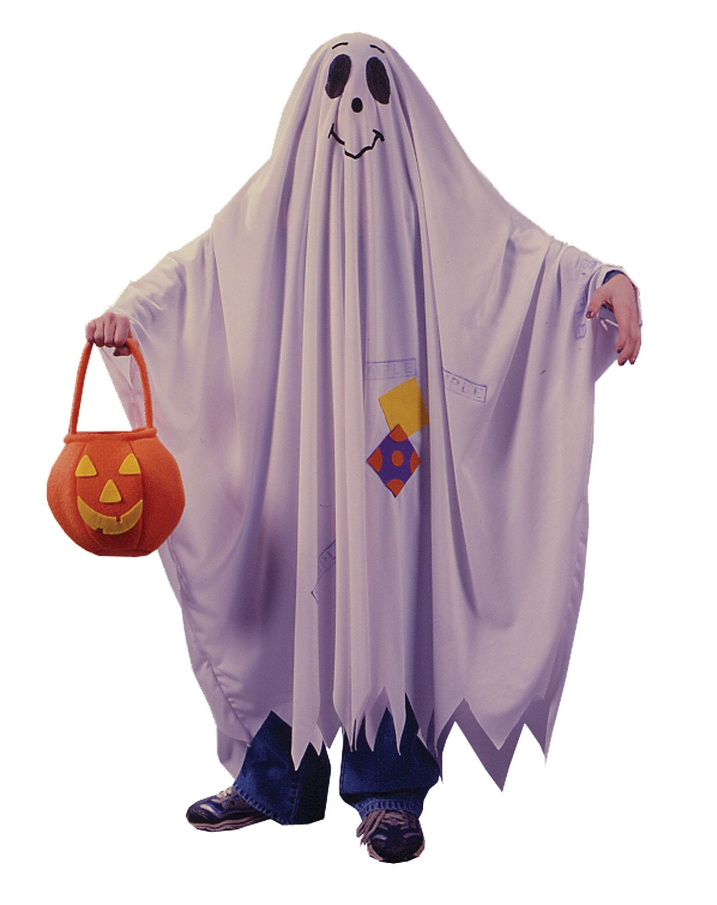 Friendly Ghost Boys Costume Sm