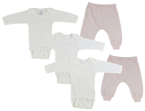 Infant Long Sleeve Onezies and Joggers