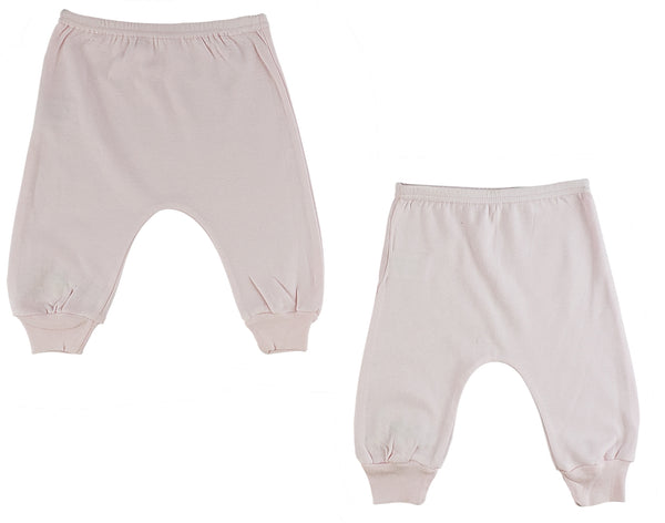 Infant Pink Jogger Pants - 2 Pack
