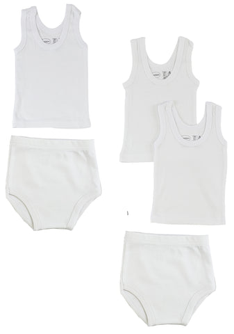 Infant Tank Tops and Training Pants