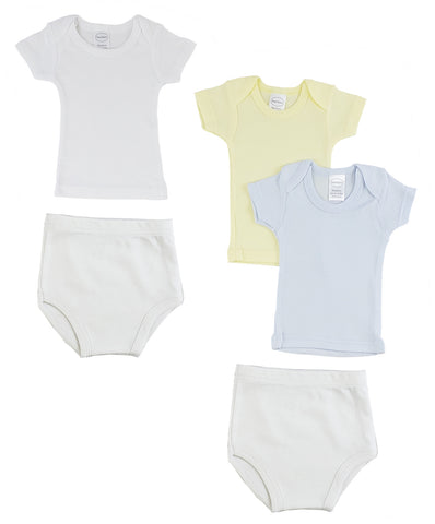 Infant Boys T-Shirts and Training Pants
