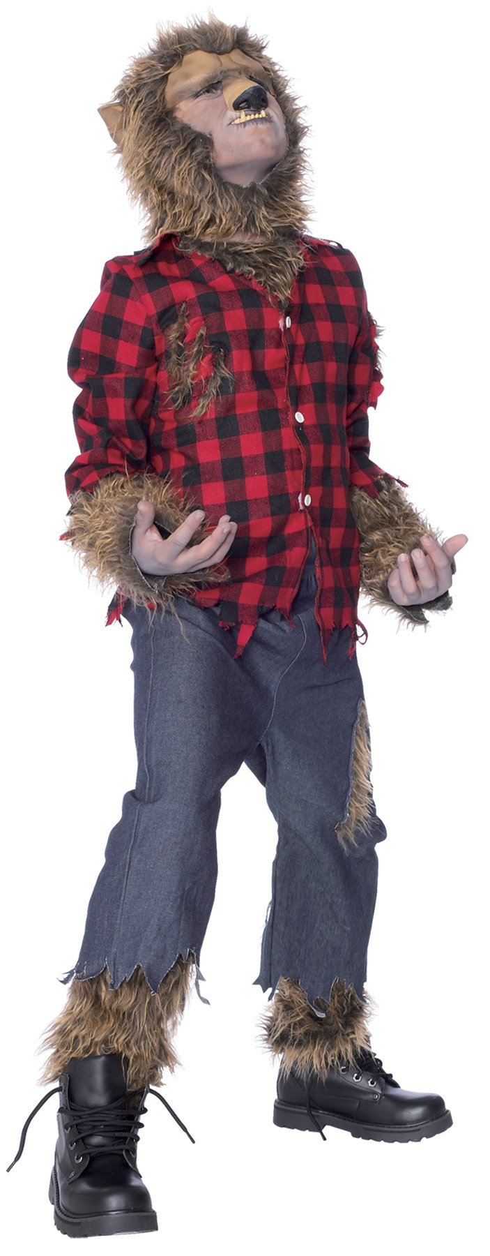 Wolfman Boys Costume Large