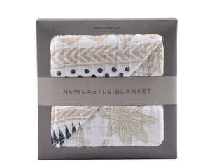 Pyramid Print and Star Anise Newcastle Blanket