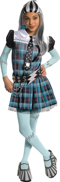 Monster High Frankie Stein Child Costume Deluxe Md