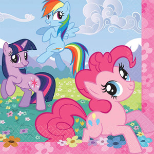 My Little Pony Lunch Napkins -Set of 16
