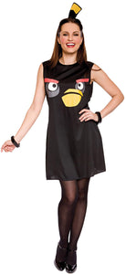 Angry Bird Black Sassy Child Costume 4-6