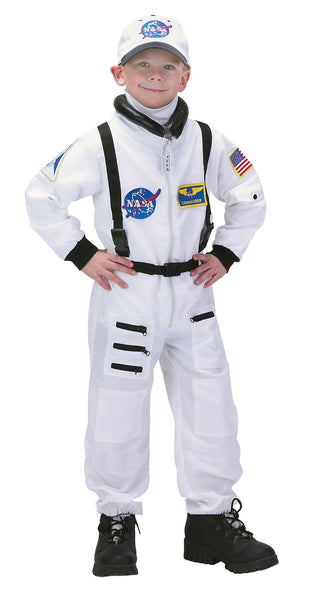 Astronaut Suit White 4-6